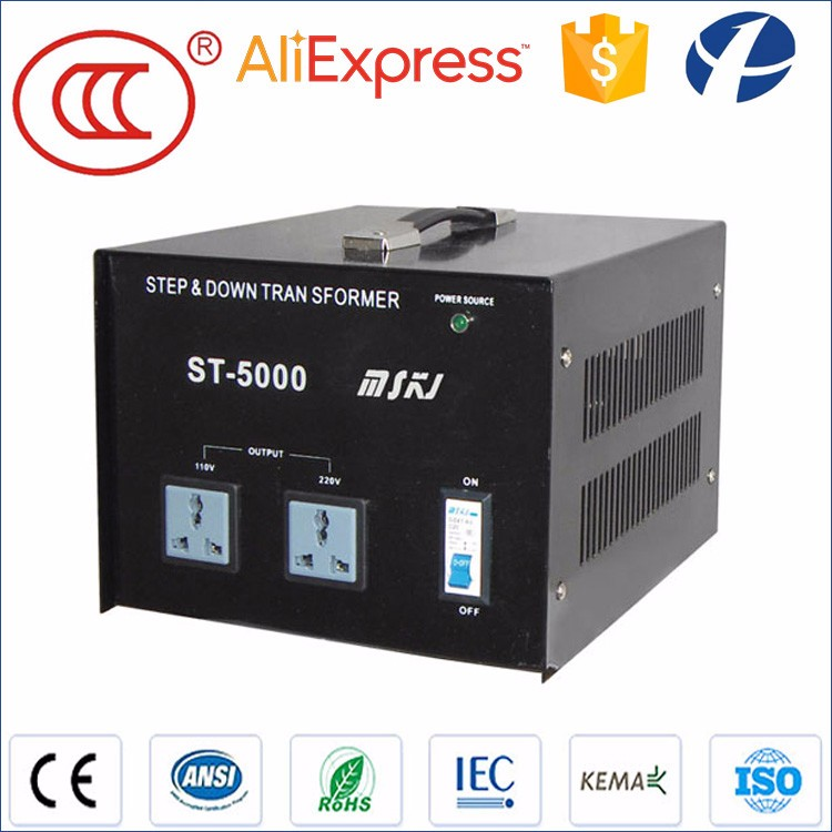 China hot sale CCC single phase transformer 230v to 110v ac