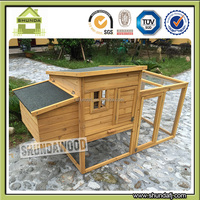 SDC011 Egg Laying Wooden Chicken Coop Outdoor Run