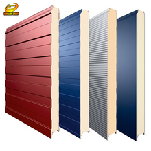 Keep warm sandwich panel board for warehouse workshop garage
