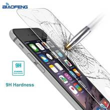 Anti-Fingerprints 9H hardness 2.5D 0.3mm tempered glass screen protector glass for iphone 7,7 plus