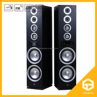 2.0 hi-fi multimedia active speaker system with usb fm remoter