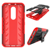 Dual Layer Hybrid Dazzle Kickstand Shockproof Cover Case For MOTO m