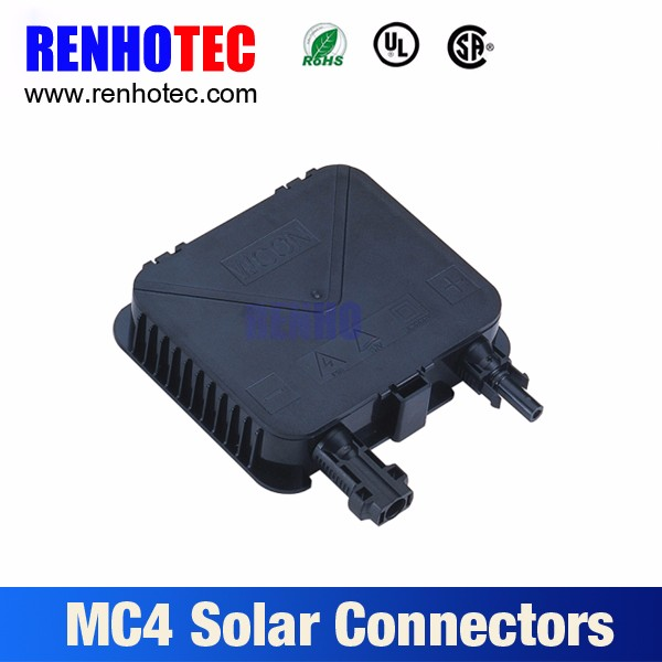pv mc4 connector, TUV ROHS UL waterproof solar junction box, solar photovoltaic junction box