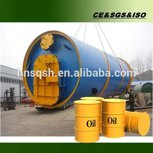 Best price for waste tire oil pyrolysis plant with easy operation