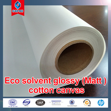 High Quality Eco-solvent Matt Cotton Canvas