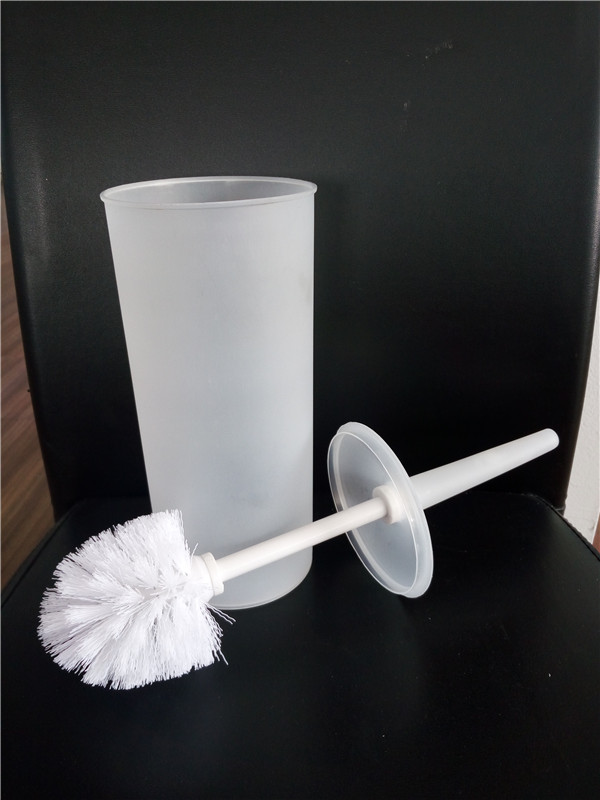 plastic PP colorful toilet brush holder with printing