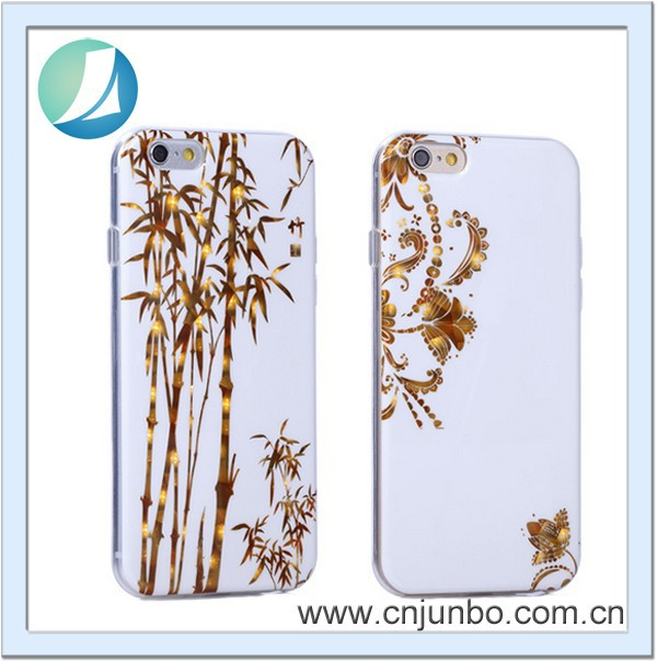 2016 Luxury customize cellphone cover machine case for iphone 6