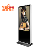 55 inch interactive multi touch table/foor standing digital signage, advertising player kiosk