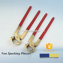 Pincers - Non-sparking Non Magnetic Tools Safety Copper Alloy Hand Clamping Tools
