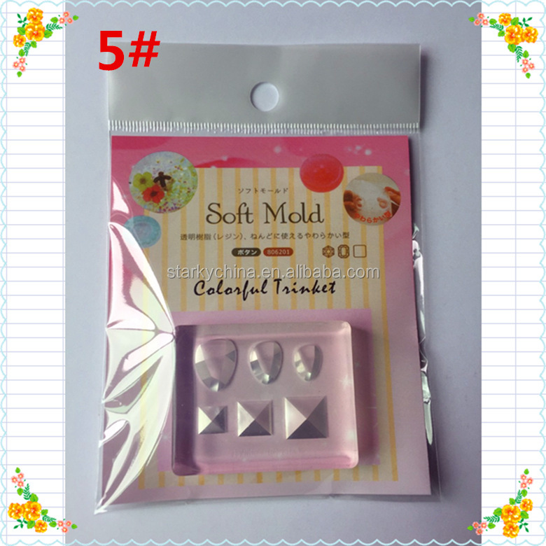 nail sculpture mold for DIY nail art