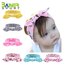 2017 hot sale europe top baby headband with hair