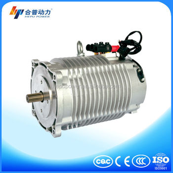 Electric motor car 10 kw three phase hpq10 96 22w electric for 10 kw dc motor
