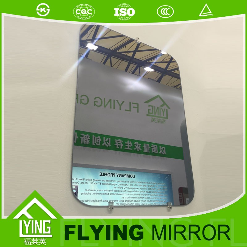 China good supplier 2mm-6mm bathroom Mirror with CE Certificate hotel decoration bathroom mirror