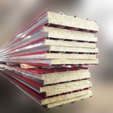 Best selling rockwool roof decorate wall sheet sandwich panel uk