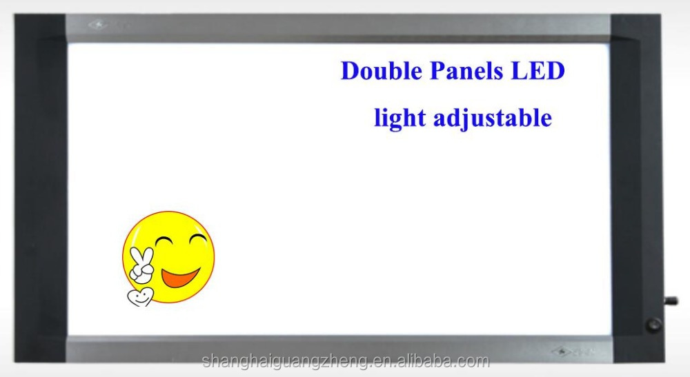 LED x ray film viewer ( double panels) light adjustable
