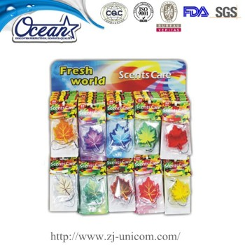 7g 2pk Colorful long lasting membrabe gel air freshener