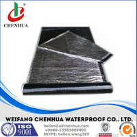Self adhesive bitumen sheet, Aluminum waterproofing membrane --- China factory price