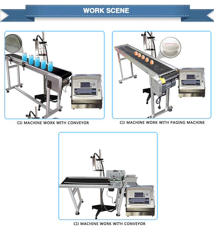 Automatic eggs cij inkjet printer plastic mineral water bottle batch no & expiry date printing machine for food label