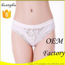 Professional colorful manufacturer women mid-waist period panties panty holes