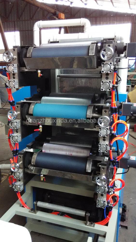 Full auto color printing table tissue serviette making - Serviette table tissu ...
