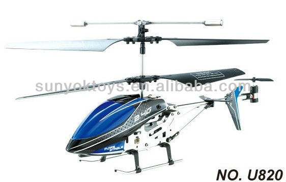 R/C 3.5ch Helicopter 2.4G with Gyro High performance U820