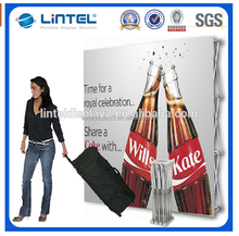 Portable Straight Fair Pop Up Banner Display