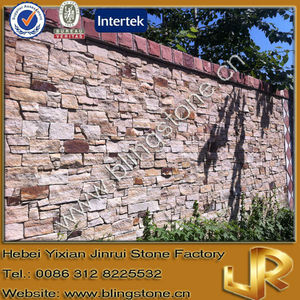 Natural Culture Stone Bright Beige Sand Stone Wall Panels