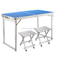 Camping Aluminum Folding Table Picnic Table outdoor Table and Chair JF-15-23