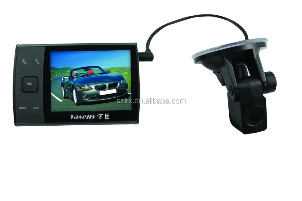 dual lens front rear view mirror dash cam dvr best. Black Bedroom Furniture Sets. Home Design Ideas