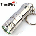 TrustFire Mini01 Stainless Steel 1xCREE XML T6 280LM 3-Mode Memory LED Flashlight with 1xCR123A Battery ( 1x16340/1xCR123A)