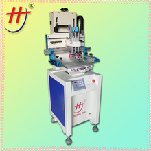HS-260PI used automatic silk screen printing machines 4 color 2 station manual silk screen printer