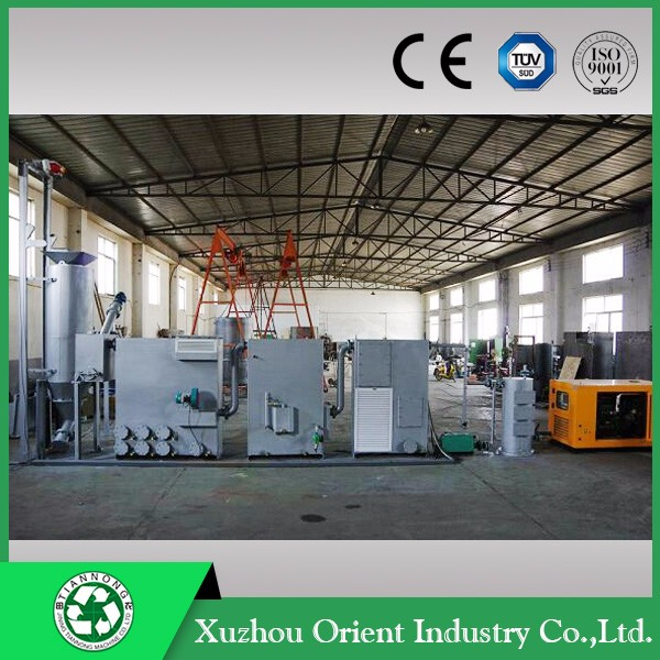 Biomass and Wood Sawdust Gasifier CHP Power Plant with Modular Structure