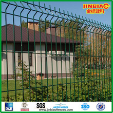 fabric welded wire mesh fencing pagar pabrik(ISO9001)