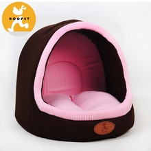 Soft Fabric Dog House,Tiantian Cat Cave Bed Dog