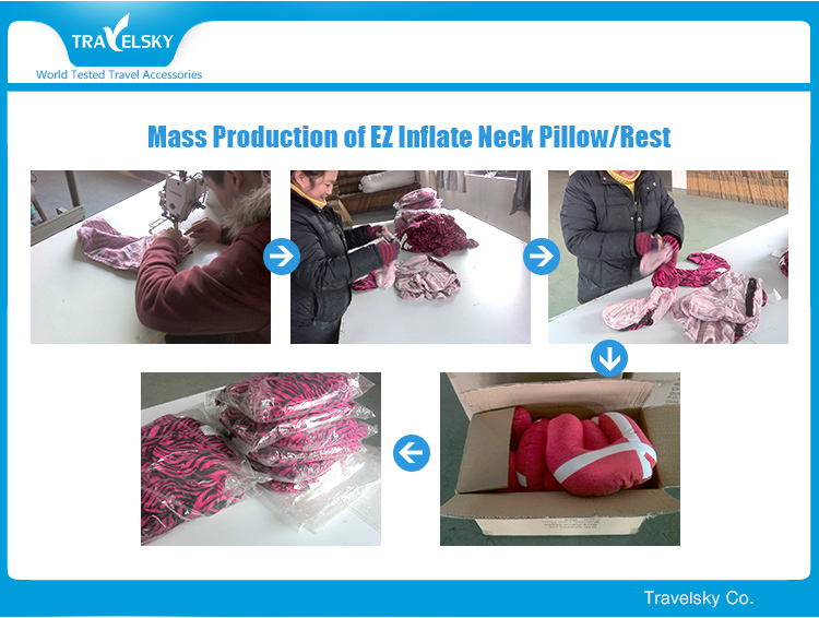 Microbead China Custom Travel U Shaped Pillow
