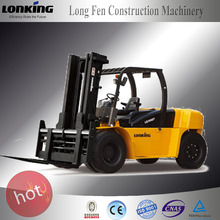 2016 new Contruction machinery 10 ton powerful engine tractor forklift with solid forklift types