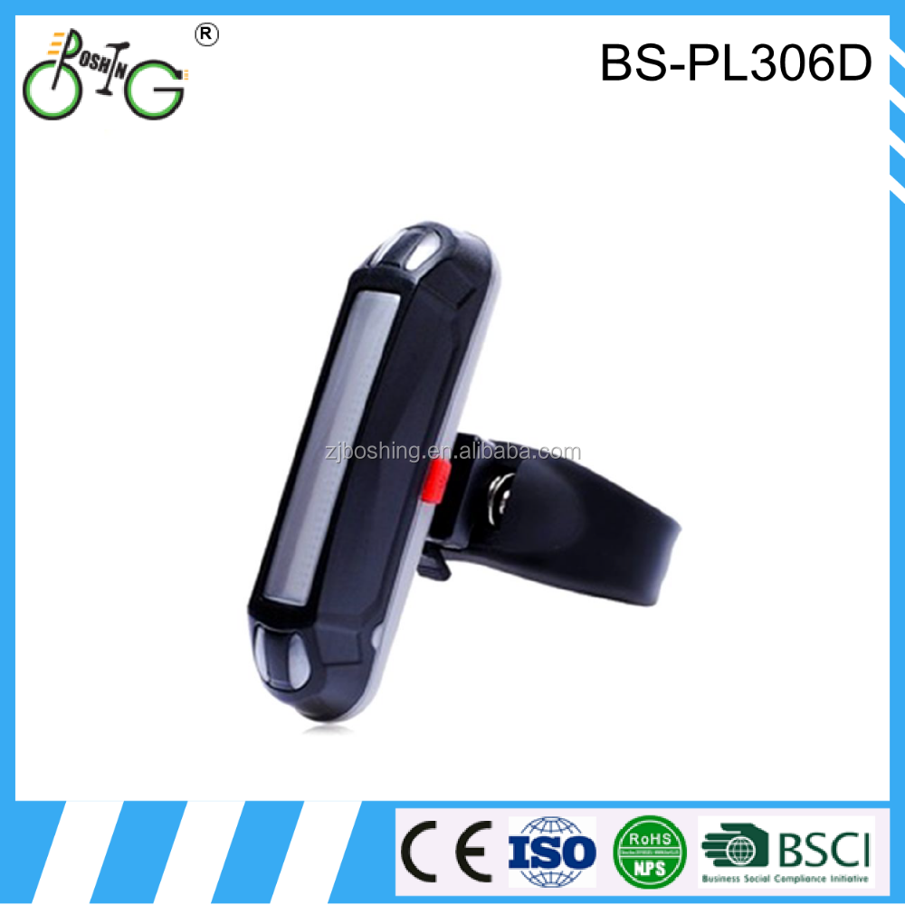 New Rechargeable COB usb bicycle led light with bike tail lightens