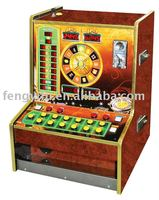 Coin operated Bergmann roulette, game machine, slot game