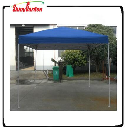 Walmart outdoor metal waterproof gazebo canopy with seam tape on fabric