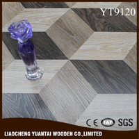 High quality easy click 12mm 3D Parquet laminate floor manufacturer