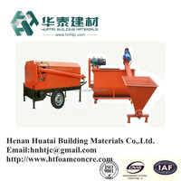 China manufacture automatic foam cement brick making machine with low consumption