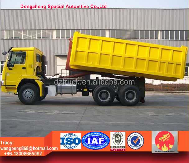 Heavy Duty Howo 6X4 Container Lifting Truck,18tons dumpster truck for sale