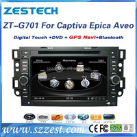 ZESTECH 8 inch double din car dvd player for Chevrolet Captiva Epica Aveo accessories with GPS Navigation