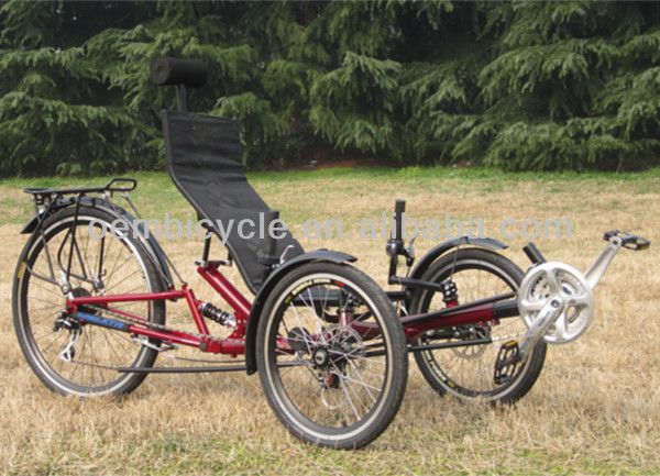 20 inch tricycle bike three wheels <strong>bicycle</strong> for elderly