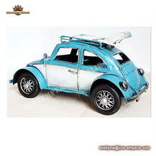 wholesale Vintage wrought iron car model/metal gifts/home decoration