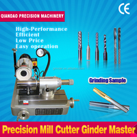 Air floating precision end mill cutter grinder master GD-66 grinder carbide end mill cutter