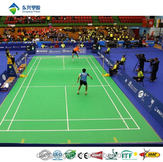BWF Badminton Court Mat Sports Floor