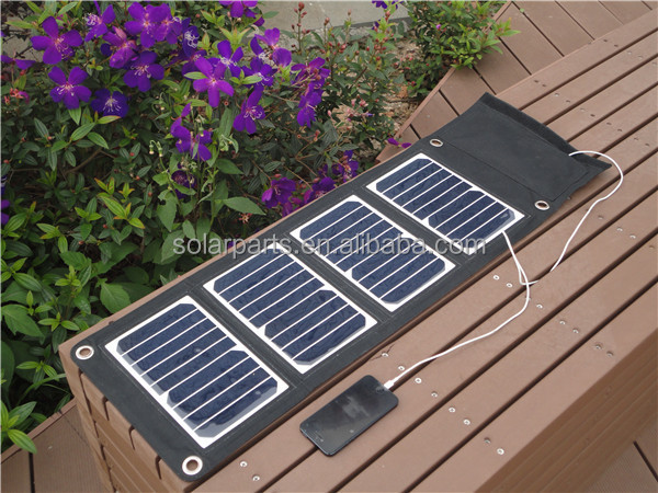 Portable Solar Charger for laptop, MP4 and other digital devices
