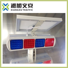 Top sale security solar flashing light/flashing safety road light/MUTCD signs