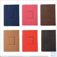 New Arrival PU Leather Case For ipad mini 4 With Card Slots And Handholder